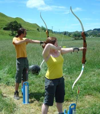 Try Olympic style target archery, clout, field archery, hunting or take on the battlefield big shot!